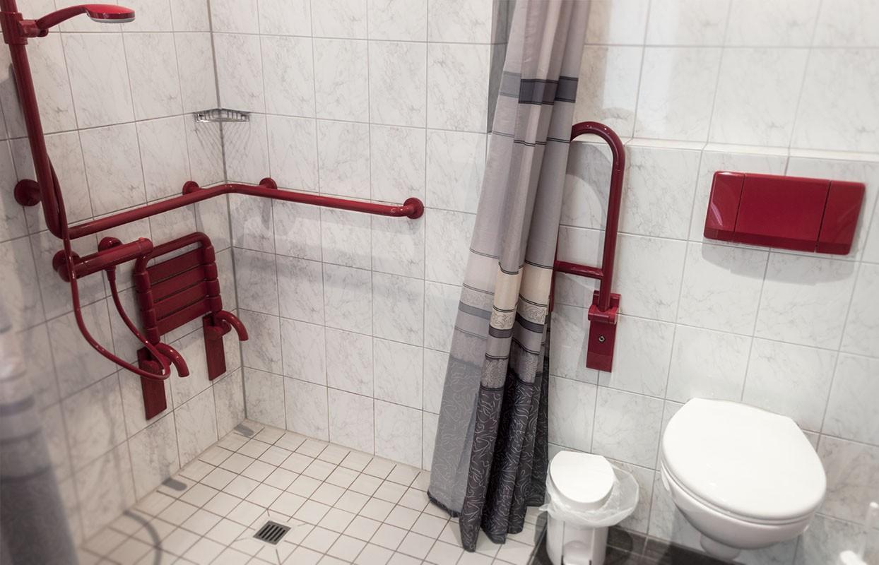Barrierefreies Doppelzimmer - Hotel Elbers Hotel Elbers